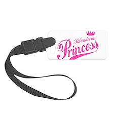 Salvadoran Princess Luggage Tag