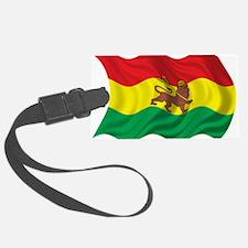 Wavy Ethiopia Flag Luggage Tag