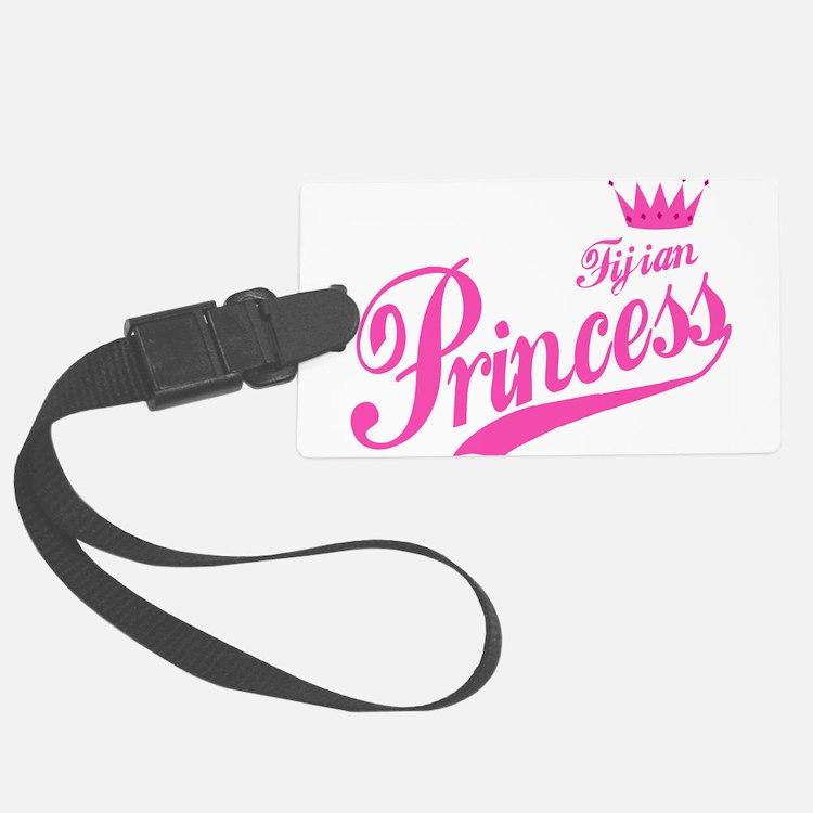 Fijian Princess Luggage Tag