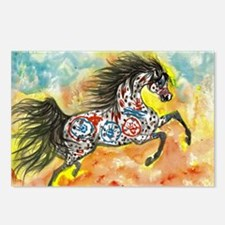 Funny Paint horse Postcards (Package of 8)