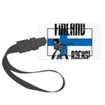 Finland Rocks Large Luggage Tag
