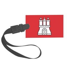Hamburg Flag Luggage Tag