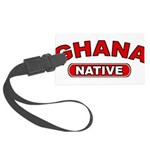 Ghana Native Large Luggage Tag