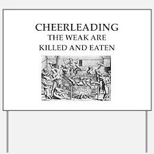cheerleading Yard Sign