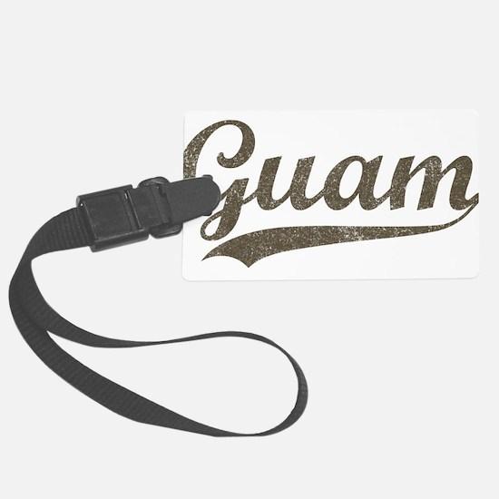 Vintage Guam Luggage Tag