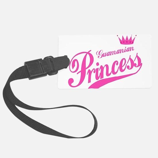 Guamanian Princess Luggage Tag