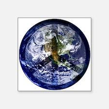 """EarthPeace Square Sticker 3"""" x 3"""""""