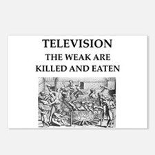 television Postcards (Package of 8)