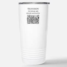 television Stainless Steel Travel Mug