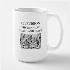 television Large Mug