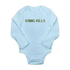 Chino Hills, Vintage Camo, Long Sleeve Infant Body