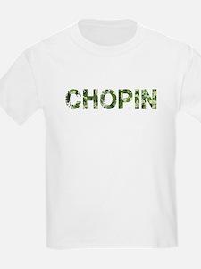 Chopin, Vintage Camo, T-Shirt