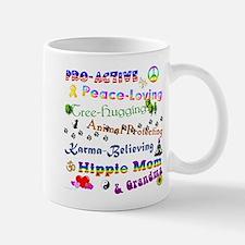 HippieGrandma Small Small Mug