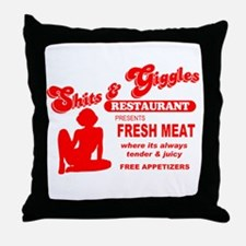 Shits & Giggles Throw Pillow