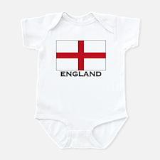 England Flag Gear Infant Bodysuit