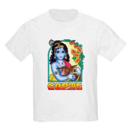 Kids Gopal Coloring Book T-Shirt