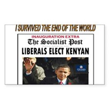 OBAMA ELECTION Decal