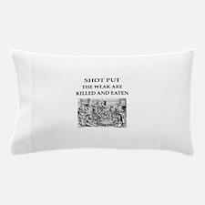 shot put Pillow Case