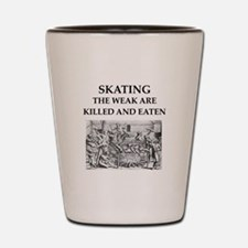 skating Shot Glass