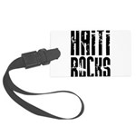Haiti Rocks Large Luggage Tag