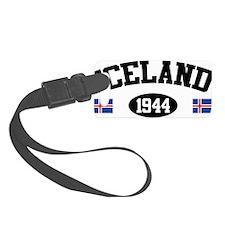 Iceland 1944 Luggage Tag