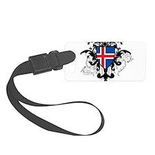 Stylish Iceland Luggage Tag