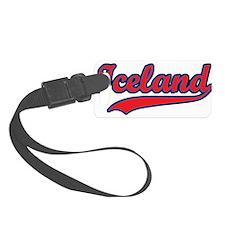 Retro Iceland Luggage Tag