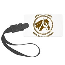 Ride An Indonesian Luggage Tag
