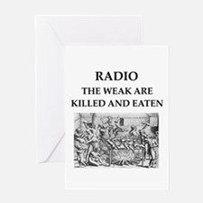 radio Greeting Card