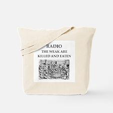 radio Tote Bag