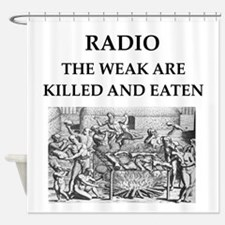 radio Shower Curtain