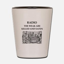 radio Shot Glass