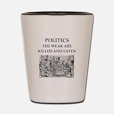 [politics Shot Glass