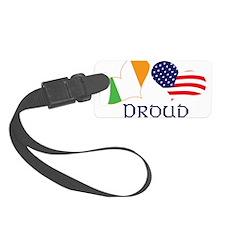 Proud Irish American Luggage Tag