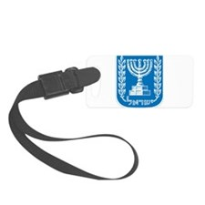 Israel Coat Of Arms Luggage Tag