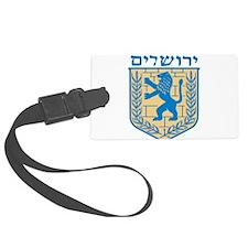 Jerusalem Emblem Luggage Tag