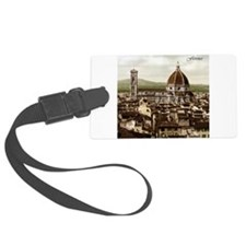 Vintage Florence Cathedral Luggage Tag