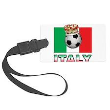 Italy Football Luggage Tag