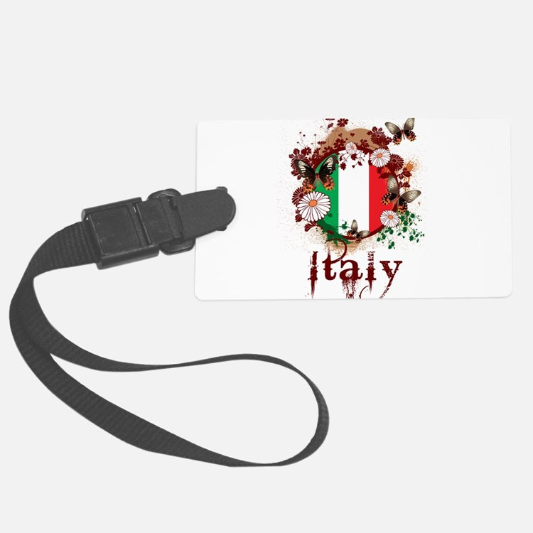 Butterfly Italy Luggage Tag
