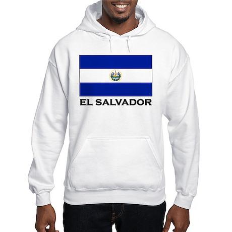 Flag of El Salvador Hooded Sweatshirt