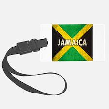 Jamaica Grunge Flag Luggage Tag