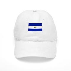 El Salvador Flag Picture Baseball Cap