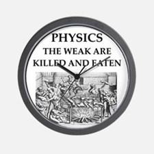 physics Wall Clock