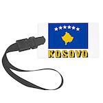 Kosovo Large Luggage Tag