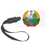 Laos Coat Of Arms Large Luggage Tag
