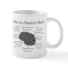 atlas of a dentists brain Mugs