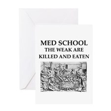 med,school Greeting Card