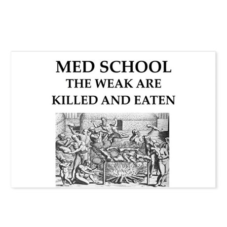 med,school Postcards (Package of 8)