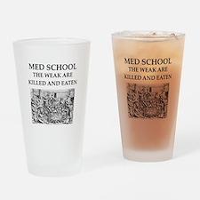 med,school Drinking Glass