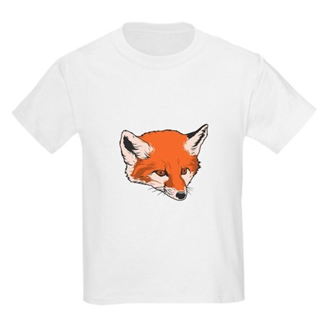 Baby Fox Head Kids T-Shirt